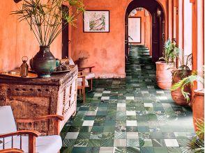 Керамическая плитка играет важную роль на выставке в Мадриде