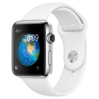 Смарт-часы Apple Watch S2 Sport 38mm St.Steel/White (MNP42RU/A)